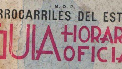 Photo of Guía Horario Oficial Fc del Estado 1938
