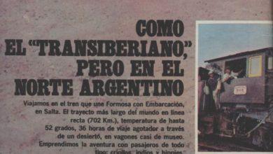 Photo of Como el «Transiberiano» Pero en el norte argentino