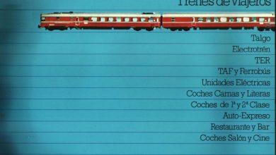 Photo of Renfe trenes de viajeros 1976