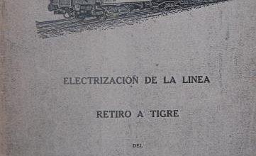Photo of Electrización de la linea Retiro – Tigre
