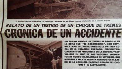 Photo of Crónica de un accidente – El Golondrina