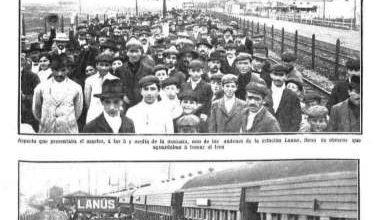Photo of La Gran huelga ferroviaria – 13 de enero 1912
