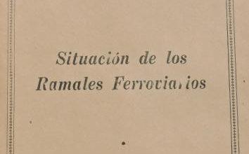 Photo of UF Situación de los ramales ferroviarios – 1963