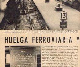 Photo of Huelga Ferroviaria 23 de Nov. 1961