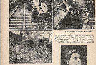 Photo of Accidente Fc. Central Córdoba Agosto 1925