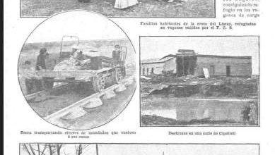 Photo of La inundación en Neuquén – 1911