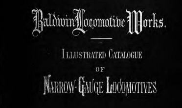 Photo of Baldwin Locomotive Works catalogo ilustrado