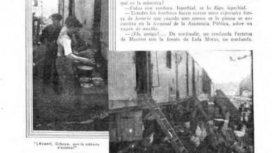 Photo of Los Golondrinas del Riel – 1926
