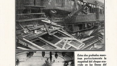 Photo of Accidente F.C.O. en Haedo  Abril 1930