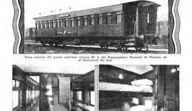 Photo of Puesto Sanitario en Fc del Sud y El Adiós a la Locomotora – 1926