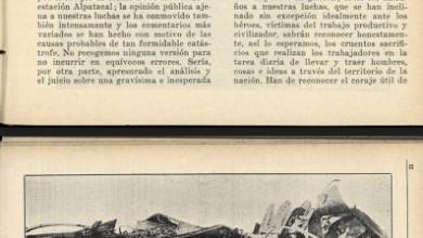 Photo of La catástrofe de Alpatacal – 1927