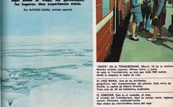 Photo of A través de Siberia en tren – 1975