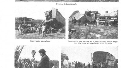 Photo of Accidentes varios desde 1909 a 1918