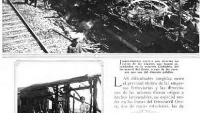 Photo of El conflicto ferroviario en Ciudadela y Villa Luro – 1930