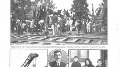 Photo of Descarrilamientos F.C.C.A de 1903 – 1914