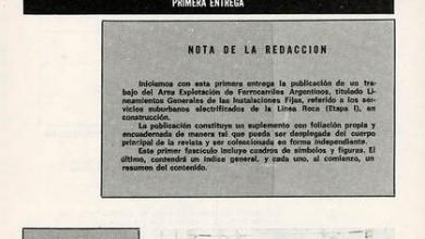 Photo of Eletrificación de la Línea Roca