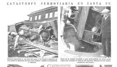 Photo of Accidentes Varios: Jujuy 1921 – Santa Fe 1923 – Retiro 1926 – Beccar 1928