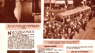 "Photo of Presentación de Perón del Tranvía ""Libertador"""