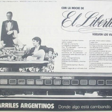 FerrocarrilesArgentinos-ElLibertador-publicidad-año_1981-ColeccionCarlos_(deSanjuan)