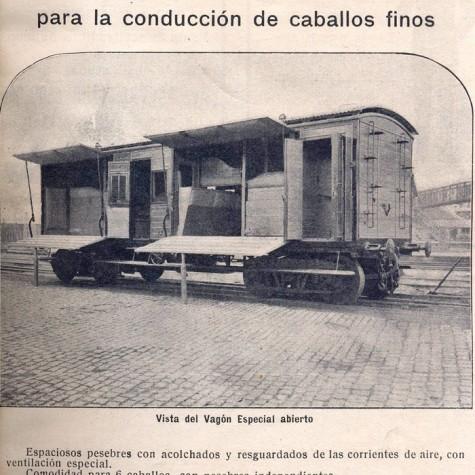 vagon caballos