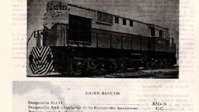 Photo of Locomotora para usos multiples – Alco RSD 16