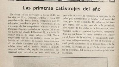 Photo of Las primeras catástrofes de 1928
