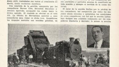 Photo of Accidentes Arroyo S. Catalina y Castellanos BAP – 1939