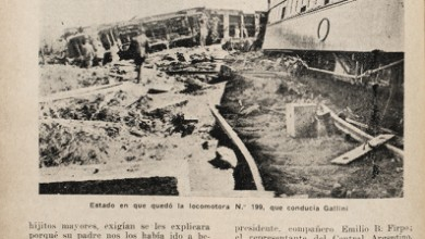 Photo of Descarrilamiento del rápido a Rosario – 1921