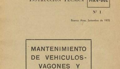 Photo of Instrucción técnica de mantenimiento de vagones y furgones