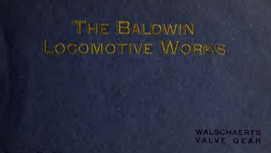 Photo of Baldwin Locomotive Works engranaje de válvula Walschaerts