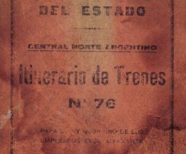 Photo of Itinerario Fc del Estado Dic. 1941