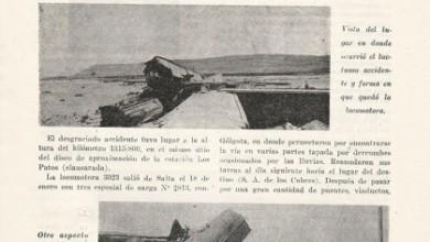 Photo of La catástrofe en las líneas del Trasandino Huaytiquina; Salta a San Antonio de los Cobres