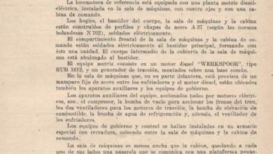 Photo of Nota técnica de la locomotora Werkspoor