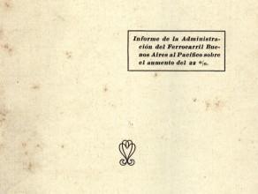 Photo of Informe BAP de Tarifas Ferroviarias – 1917