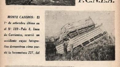Photo of Clipping de accidentes de la decada del 40
