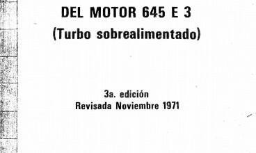 Photo of Manual de mantenimiento GM motor 645 E3